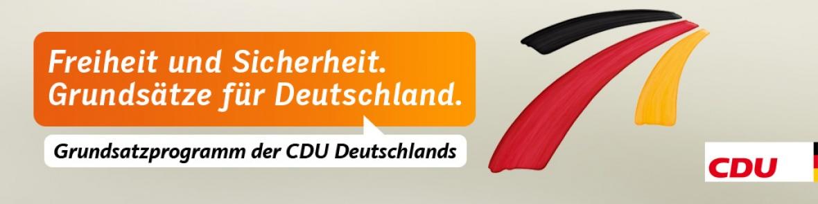 CDU-Grundsatzprogramm